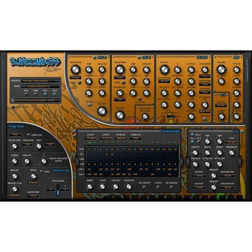 Rob Papen SubBoomBass Virtual Plug-in Instrument RPSBB05