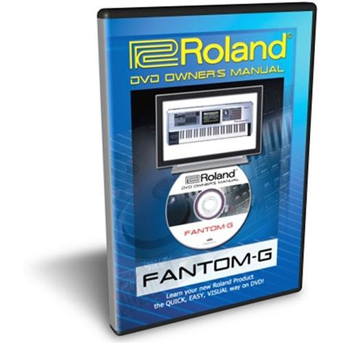 Roland DVD: Owner's Manual for Roland Fantom-G FANTOM-GDVM