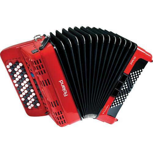 Roland  FR-1xb V-Accordion (Red) FR-1XB-RD