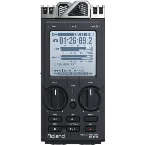 Roland R-26 6-Channel Digital Field Audio Recorder R-26