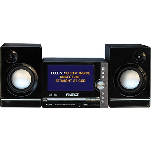 RSQ Audio P-300 - Multi-Format LCD Karaoke System P-300