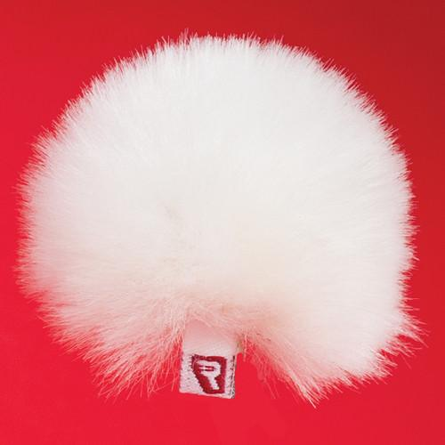 Rycote Single White Ristretto Lavalier Windjammer 065557