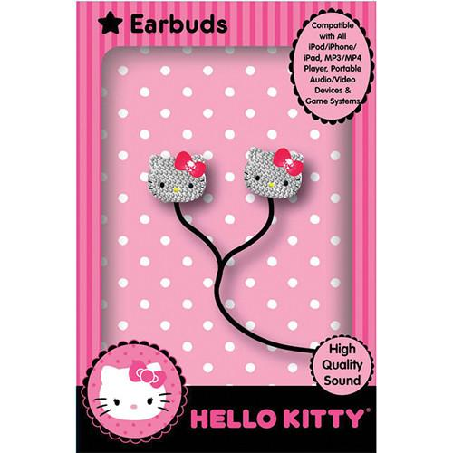 Sakar  Hello Kitty Bling Earbuds HKBL1000