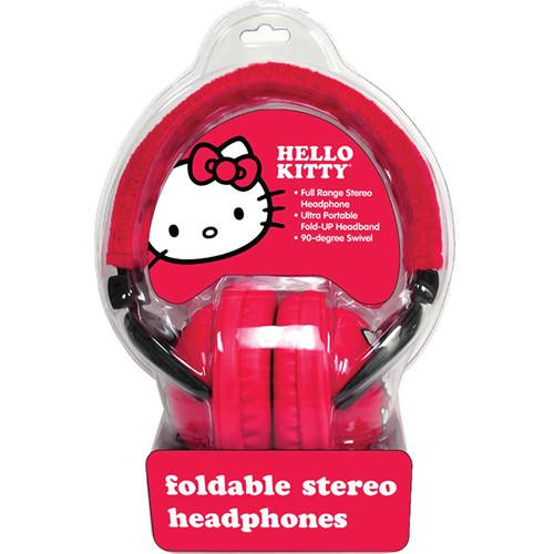 Sakar  Hello Kitty Foldable Headphones 35009-BB