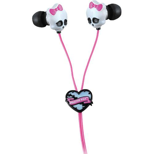 Sakar  Monster High Skull Earbuds 11348
