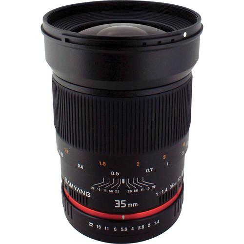 Samyang 35mm f/1.4 AS UMC Lens for Pentax K SY35M-P