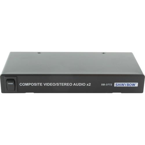 Shinybow 1 x 2 Composite Audio / Video Distribution SB-3772