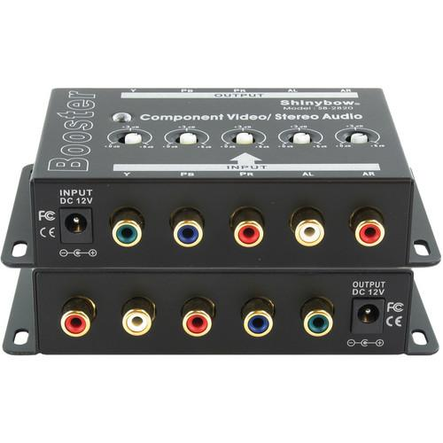 Shinybow SB-2820 1 x 1 Component Video and Audio Booster SB-2820