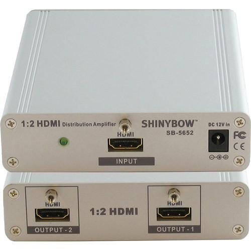 Shinybow SB-5652 1x2 HDMI Distribution Amplifier SB-5652
