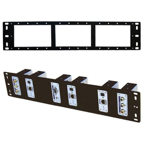 Shinybow SB-6066 2U Rack Mount Panel for CAT5 Extenders SB-6066