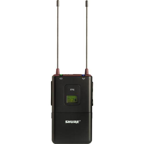 Shure FP5 Wireless Portable Receiver (G4: 470 - 494MHz) FP5-G4