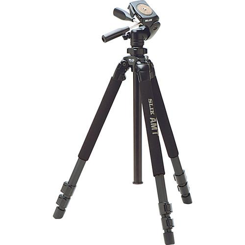 Slik Pro 700DXQ Aluminum Tripod With 3-Way Pan and Tilt 615-316