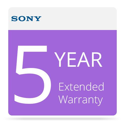 Sony 5 Year Extended Warranty for 15-20