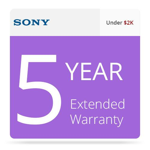 Sony 5-Year Extended Warranty for Entry-Level LMD SPSLMDELEW5