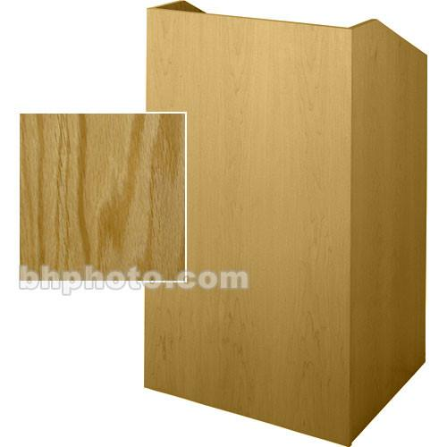 Sound-Craft Systems Floor Lectern (Natural Oak) SCV36O
