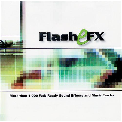 Sound Ideas Sample CD: Flash eFX - 1 CD ROM SI-FLASH