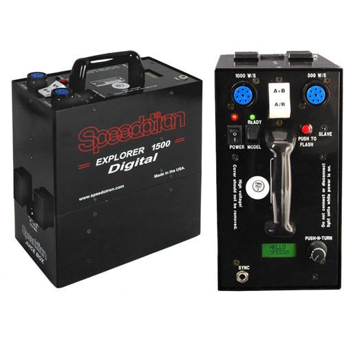 Speedotron Explorer 1500 Digital Portable Power Supply 850184