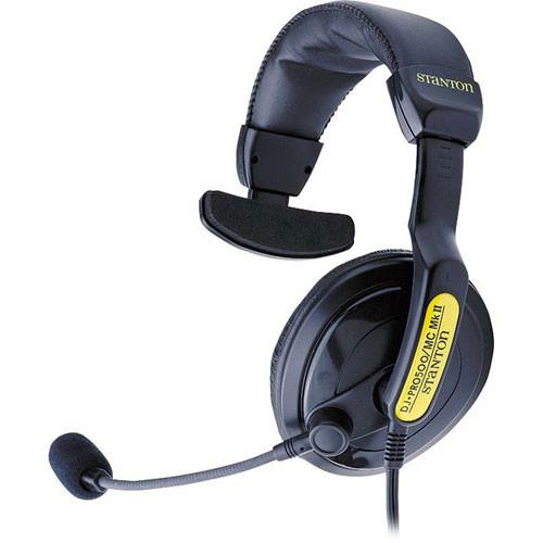 Stanton DJ-P500MCMKII Single Ear DJ Headset DJ PRO 500 MC MK II