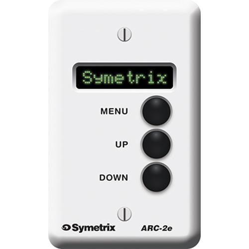 Symetrix ARC-2E Modular Wall-Panel Remote Control for DSP ARC-2E