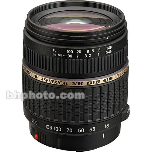 Tamron 18-200mm f/3.5-6.3 XR Di-II Macro Lens for Sony &