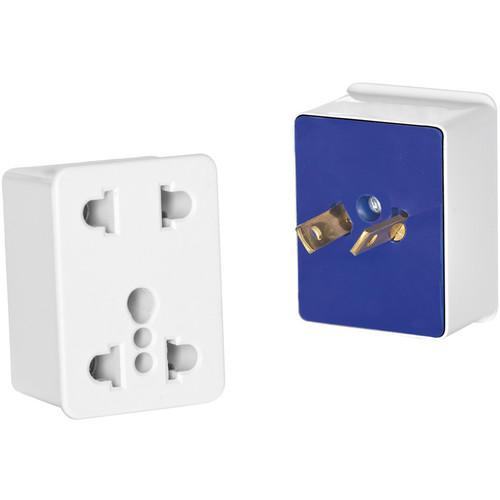 Travel Smart by Conair Dual Outlet Adapter Plug for North NWD3