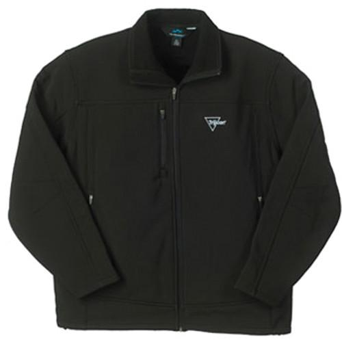 Trijicon Black Soft Shell Lined Men's Jacket w/Trijicon Logo