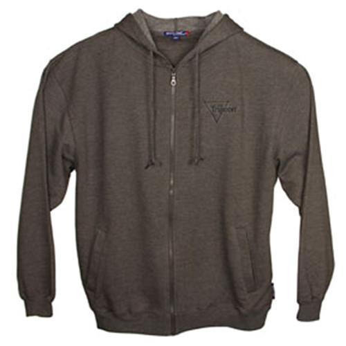 Trijicon Fleece Full-Zip Hooded Sweatshirt - Grey AP51
