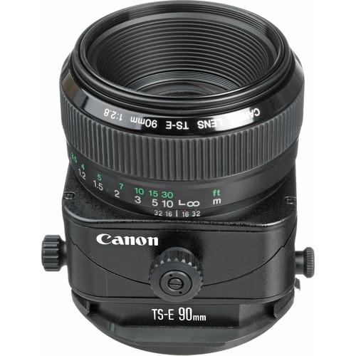 Used Canon TS-E 90mm f/2.8 Tilt-Shift Lens 2544A010AA