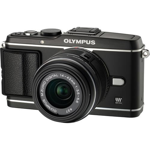 Used Olympus E-P3 PEN Digital Camera with 14-42mm V204031BU000B
