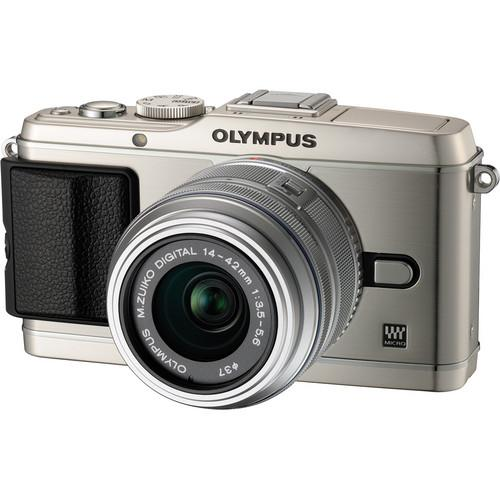 Used Olympus E-P3 PEN Digital Camera with 14-42mm V204031SU00B
