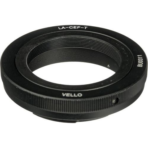 Vello Lens Mount Adapter - T Mount Lens to Canon EOS LA-CEF-T