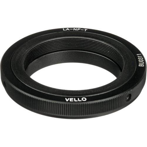 Vello Lens Mount Adapter - T Mount Lens to Nikon F Mount LA-NF-T