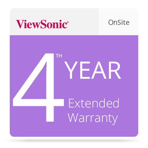 ViewSonic CD-EW-65-01 Extended On-Site Warranty CD-EW-65-01