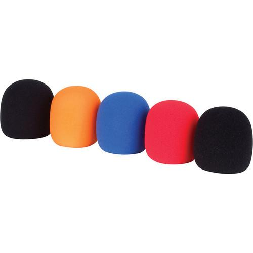 VocoPro WS-5 Microphone Windscreen Set (Assorted Colors) WS-5