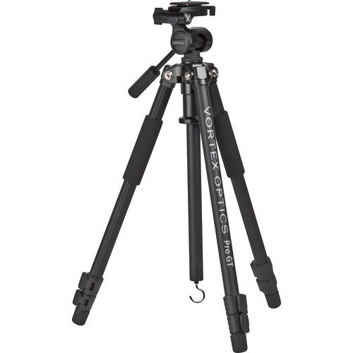 Vortex Pro GT Tripod with 3-Way Pan/Tilt Head PRO-2