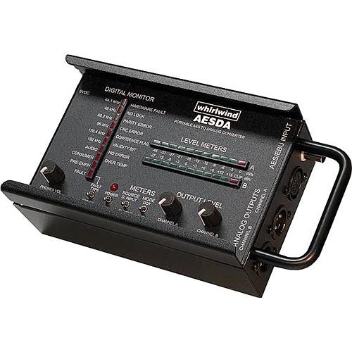 Whirlwind AESDA - Portable AES Digital to Analog Converter AESDA