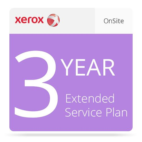 Xerox 3-Year Service Agreement Extension For ColorQube E8570S4