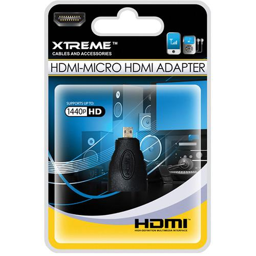 Xtreme Cables  HDMI to Micro HDMI Adapter 73390