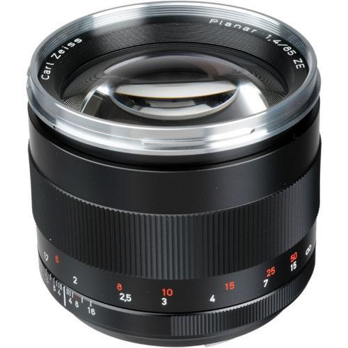 Zeiss Telephoto 85mm f/1.4 ZE Planar T* Manual Focus Lens