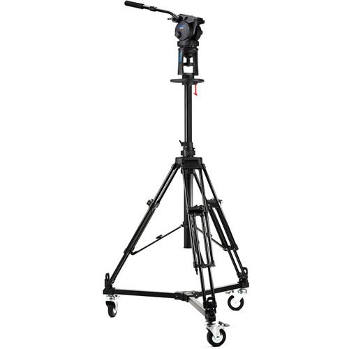 Acebil PD1800 Pro Pedestal with H70 Head / D5 Dolly / and PD70