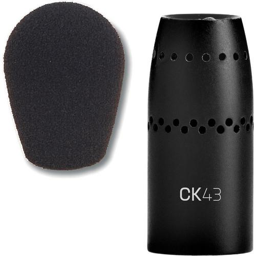 AKG CK43 Supercardioid Capsule With Windscreen 3165Z00020