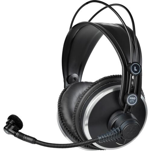 AKG HSD271 Professional Headset with Dynamic 2955X00270
