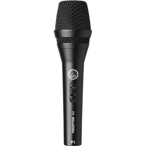 AKG P 5 S Dynamic Microphone With On/Off Switch 3100H00120