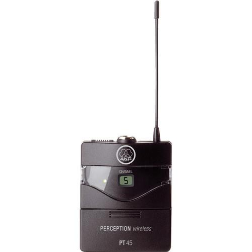 AKG Perception PT 45 Wireless Pocket Transmitter - 3247H00010