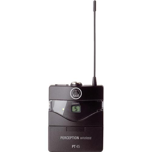 AKG Perception PT 45 Wireless Pocket Transmitter - 3247H00090