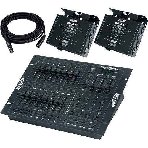 American DJ Stage Pak 1 Controller & Dimmer Pack STAGE PAK 1