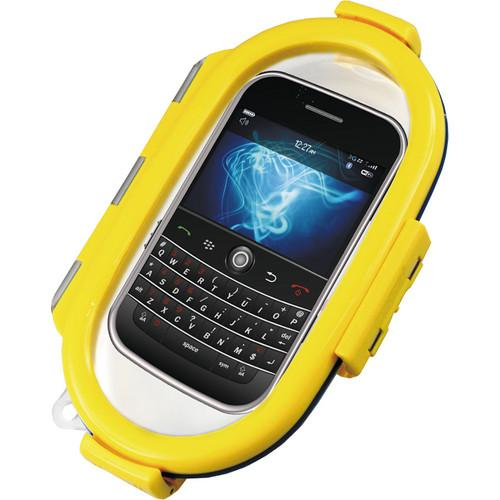 Aryca Whirl Waterproof Push Button Phone Case (Yellow) WS6Y
