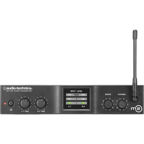 Audio-Technica M2T Stereo Transmitter (M - 614 to 647 MHz) M2TM