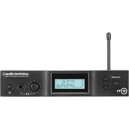 Audio-Technica M3T Stereo Transmitter (M- 614 to 647 MHz) M3TM