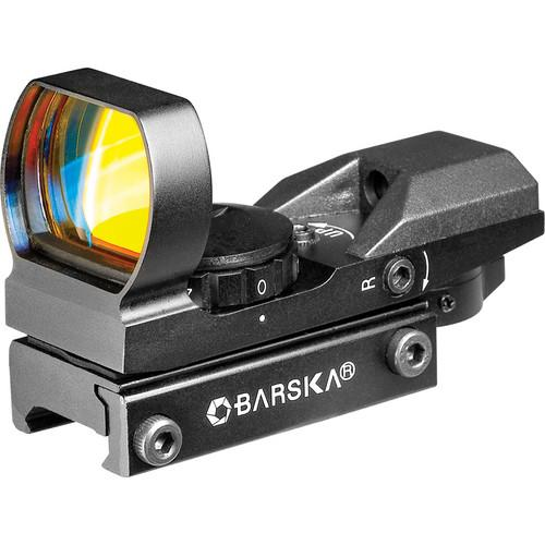 Barska AC11704 Multi-Reticle Green and Red Electro Sight AC11704